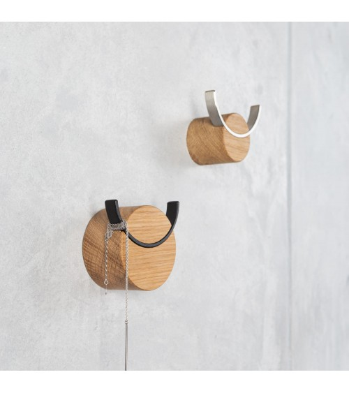 wooden wall hooks for jewelery
