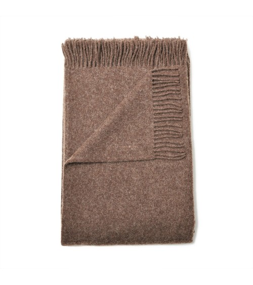 chocolate brown bed throws