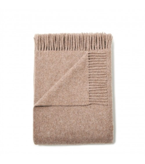 brown throw blanket